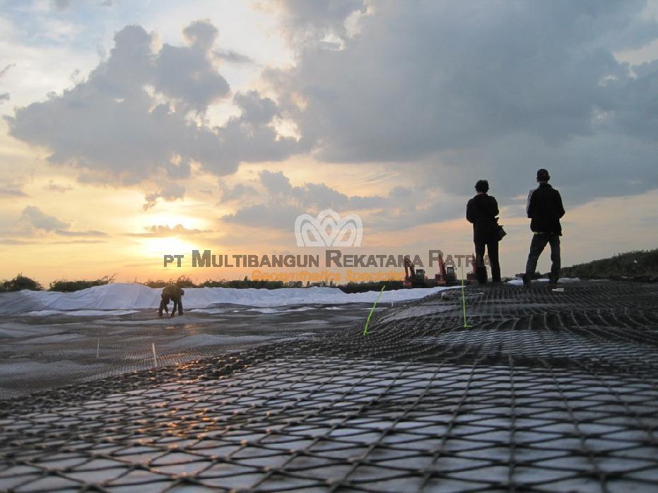 Hauling Road Margasari Tatakan - Tapin