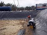 WM- Mudpit Pemboran Lokasi BGL-02 Desa Tanjung Jati Langkat Sumut