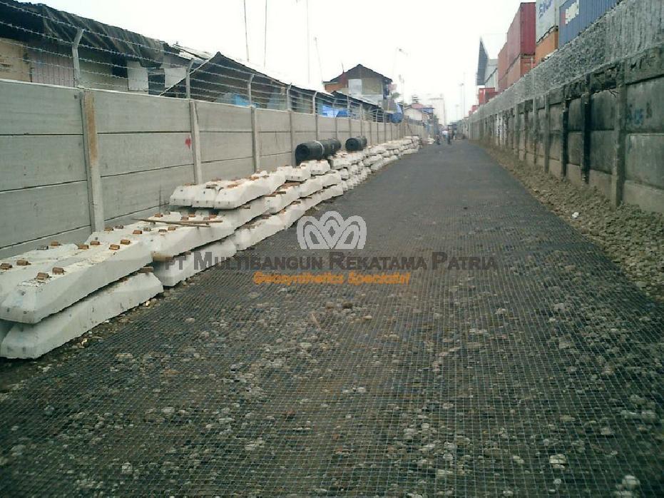 Jalur Kereta Api Stasiun Pasoso - Dermaga Peti Kemas, Priok