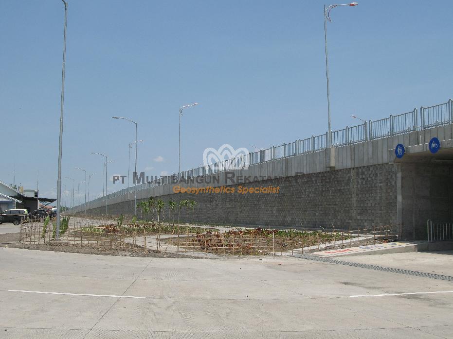 Jembatan Suramadu - Sisi Surabaya