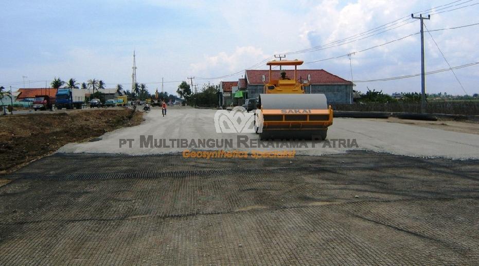 Pelebaran Jalan BP 07C Pamanukan - Eretan Kulon