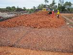Stabilisasi Tanah Dasar Lapangan Pengeboran Pertamina EP Pulau Bunyu & Sangasanga