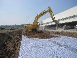 Stabilisasi tanah dasar PT AHM Plant - Dawuan Cikampek