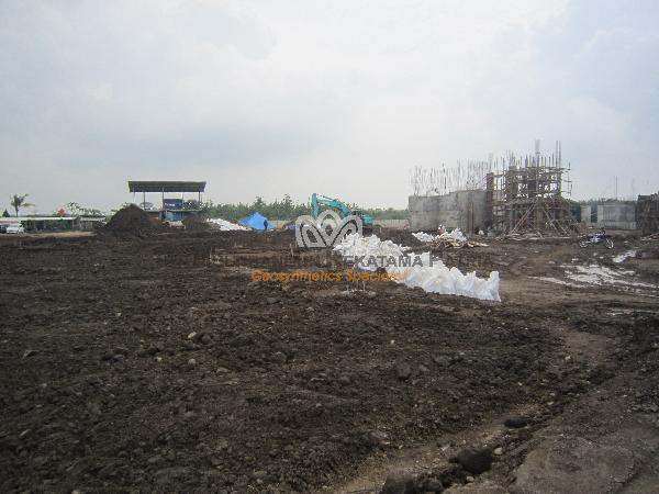 01 Wrap-Around Dinding Penahan Tanah Crusher Plant Sumedang JaBar