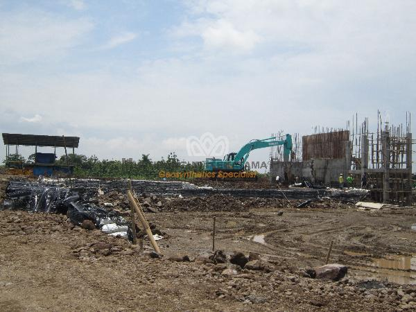03 Wrap-Around Dinding Penahan Tanah Crusher Plant Sumedang JaBar